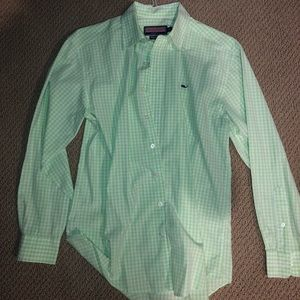 GINGHAM VINEYARD VINES DRESS SHIRT